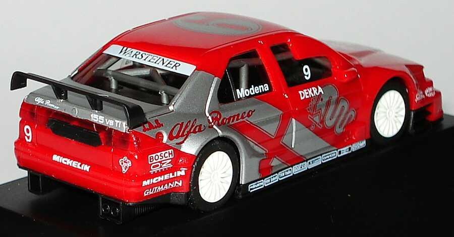 Foto 1:87 Alfa Romeo 155 V6 TI ITC 1996 JAS, Alfa Romeo Nr.9, Stefano Modena herpa 036856