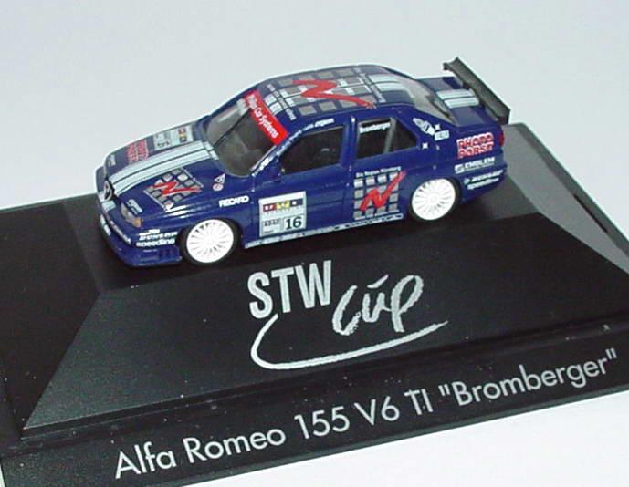 Foto 1:87 Alfa Romeo 155 V6 TI STW Region Nürnberg Nr.16, Bromberger herpa