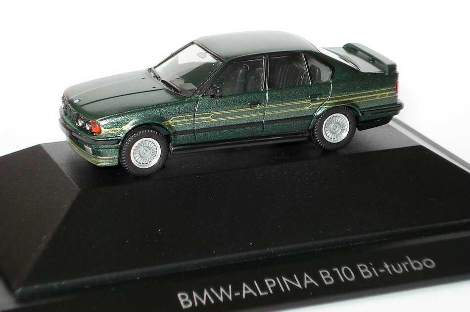 Foto 1:87 Alpina B10 BiTurbo (E34) malachitgrün-met. herpa 30065