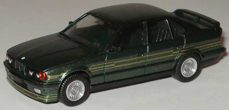 Foto 1:87 Alpina B10 BiTurbo (E34) malachitgrün-met. (ohne PC-Box) herpa