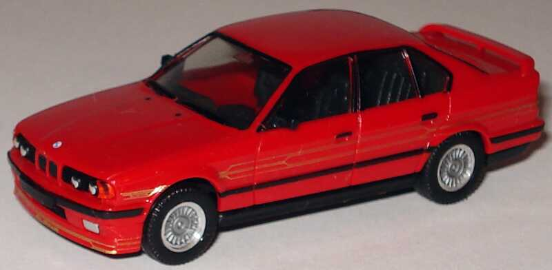Foto 1:87 Alpina B10 BiTurbo (E34) rot (ohne PC-Box) herpa