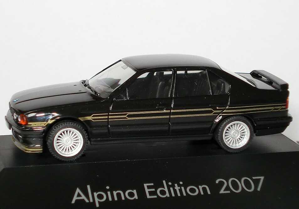 Foto 1:87 Alpina B10 BiTurbo (E34) schwarz Alpina Edition 2007 herpa 101745