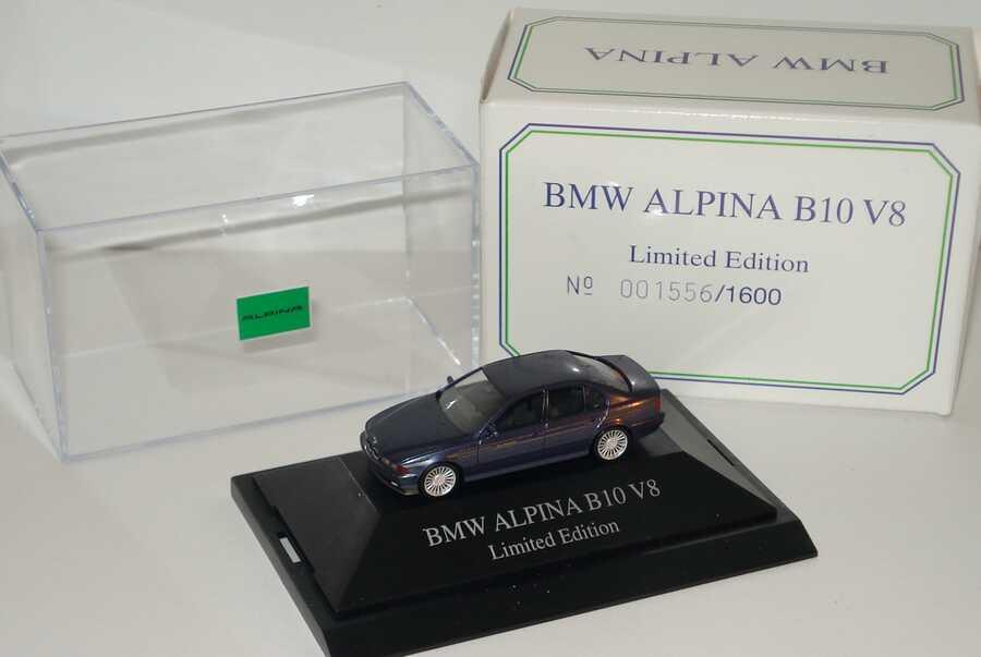 Foto 1:87 Alpina B10 V8 (E39) blau-met. (Alpina) herpa