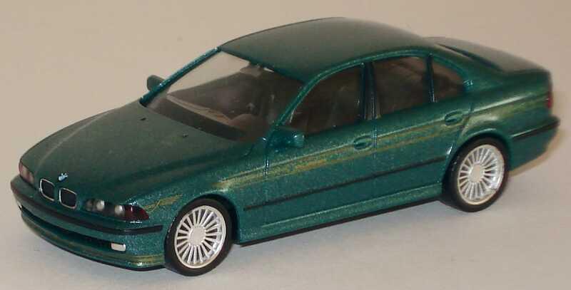 Foto 1:87 Alpina B10 V8 (E39) grün-met. herpa