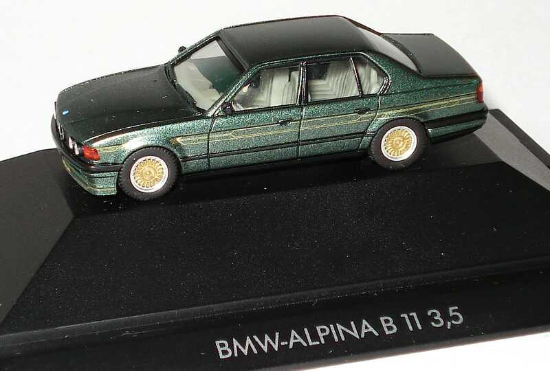 Foto 1:87 Alpina B11 3,5 (E32) malachitgrün-met. herpa 30043