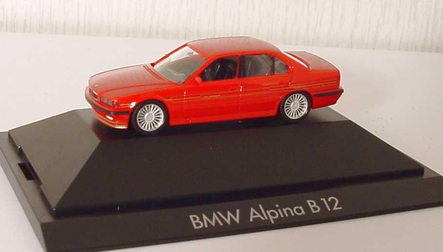 Foto 1:87 Alpina B12 5,7 (E38) rot herpa 101011