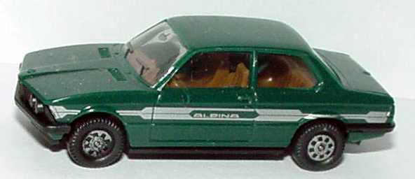 Foto 1:87 Alpina B6 2,8 (E21) dunkelgrün ohne Frontspoiler herpa 3506
