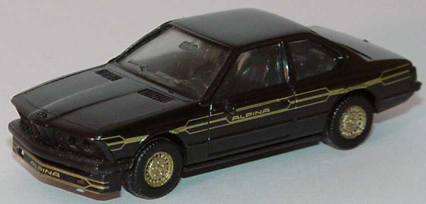 Foto 1:87 Alpina B7 Turbo Coupé (E24) schwarz/gold herpa