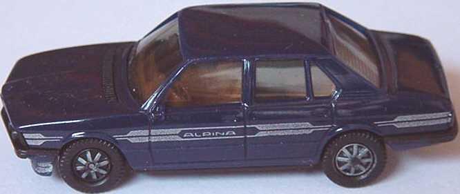 Foto 1:87 Alpina B7 Turbo (E12) stahlblau (IA braun) herpa 3515/1A