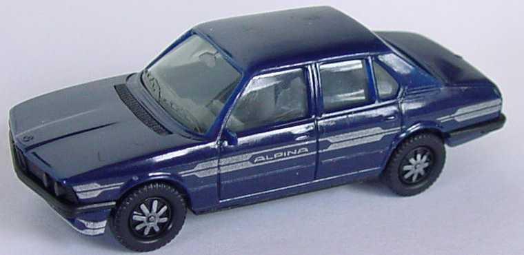 Foto 1:87 Alpina B7 Turbo (E12) stahlblau (IA grau) herpa 3515/1A