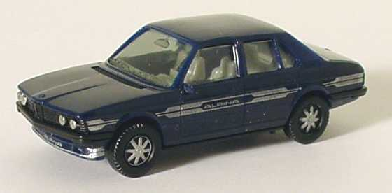 Foto 1:87 Alpina B7 Turbo (E12) stahlblau (IA grau) (silberne Scheinwerfer) herpa 3515/1A