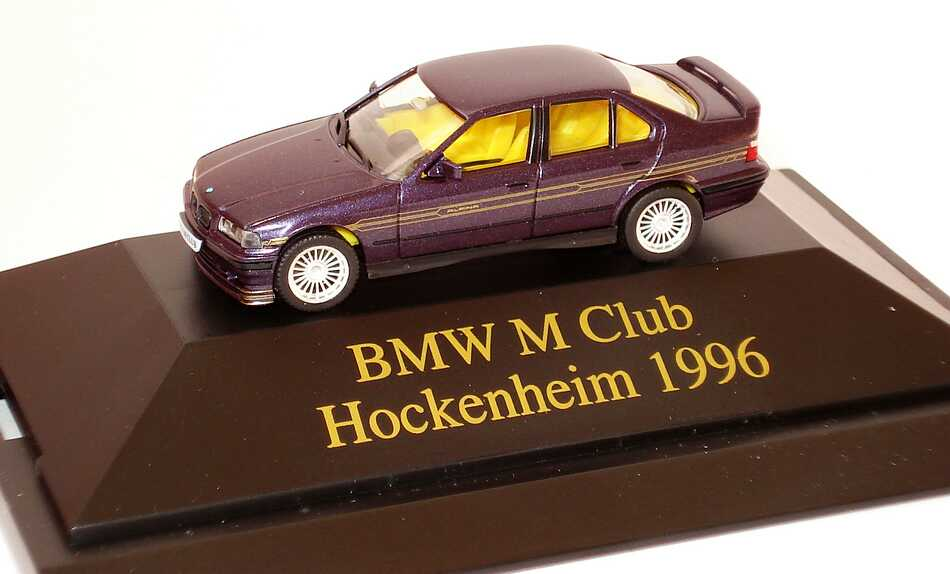Foto 1:87 Alpina B8 4,6 (E36) daytonaviolett-met. BMW M Club Hockenheim 1996 herpa