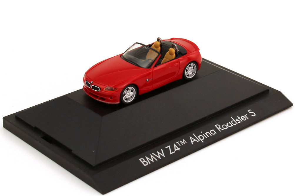 Foto 1:87 Alpina BMW Z4 Roadster (E85) S rot herpa 101684