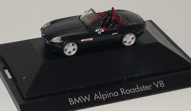 Foto 1:87 Alpina Roadster V8 schwarz herpa 101349