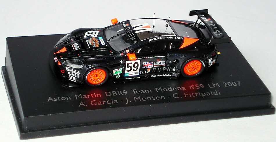 Foto 1:87 Aston Martin DBR9 24h von Le Mans 2007 Team Modena Nr.59, Garcia / Menten / C. Fittipaldi Spark 87S037