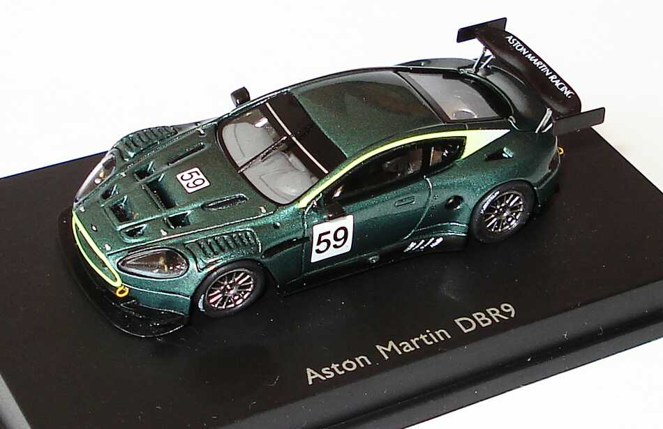 aston martin dbr9 gr n met pr sentation 2005. Black Bedroom Furniture Sets. Home Design Ideas