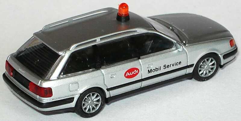 Foto 1:87 Audi 100 Avant (C4) Audi Mobil Service Rietze 30451