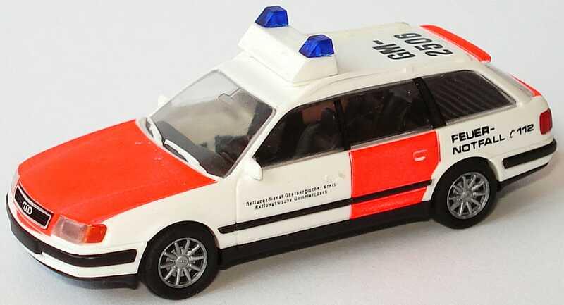 Foto 1:87 Audi 100 Avant (C4) Rettungsdienst Oberbergischer Kreis, Rettungswache Gummersbach, GM-2506 Rietze