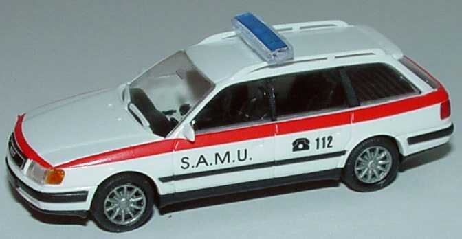 Foto 1:87 Audi 100 Avant (C4) S.A.M.U. Notarztwagen (Luxembourg) Rietze 50452