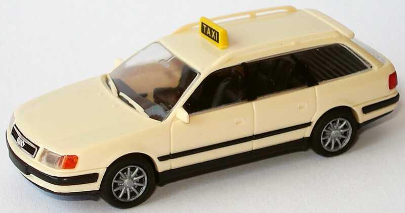 Foto 1:87 Audi 100 Avant (C4) Taxi (Speichenfelgen) Rietze 30450