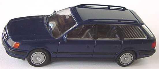 Foto 1:87 Audi 100 Avant (C4) dunkelblau Rietze