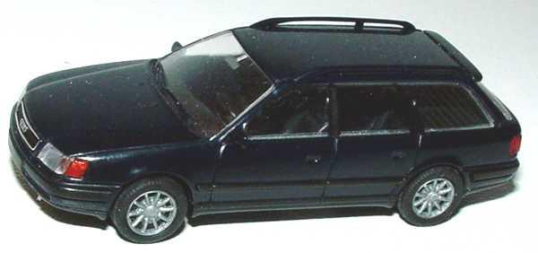 Foto 1:87 Audi 100 Avant (C4) dunkelblau (Speichenfelgen) Rietze