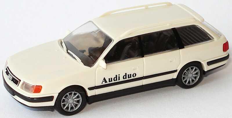 Foto 1:87 Audi 100 Avant (C4) hellbeige Audi duo Rietze 10451