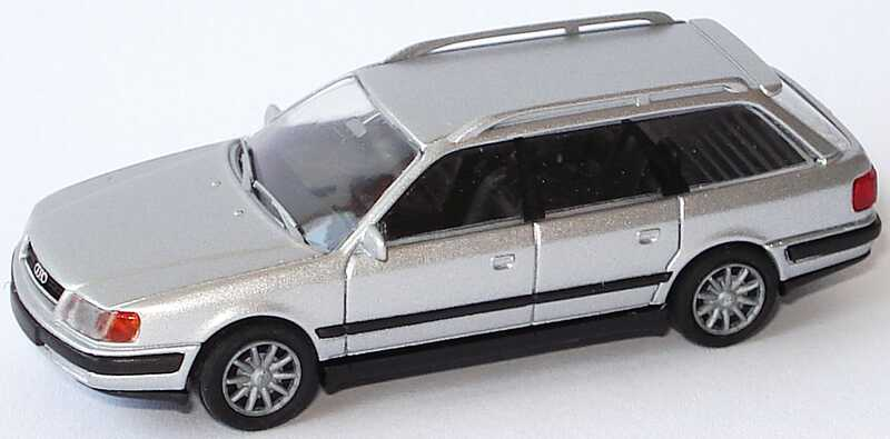 Foto 1:87 Audi 100 Avant (C4) silber-met. Rietze 20450