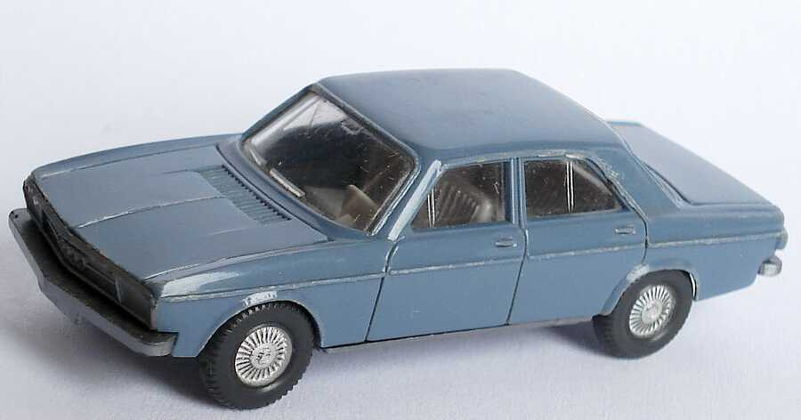Foto 1:87 Audi 100 (C1) graublau Wiking 120