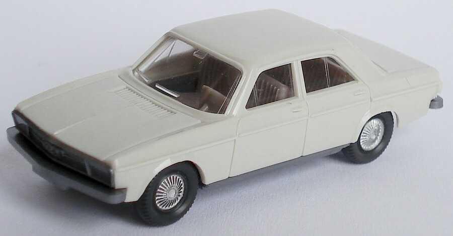 Foto 1:87 Audi 100 (C1) grauweiß Wiking 120