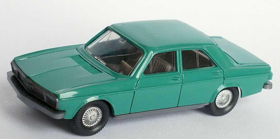 Foto 1:87 Audi 100 (C1) grün Wiking 120