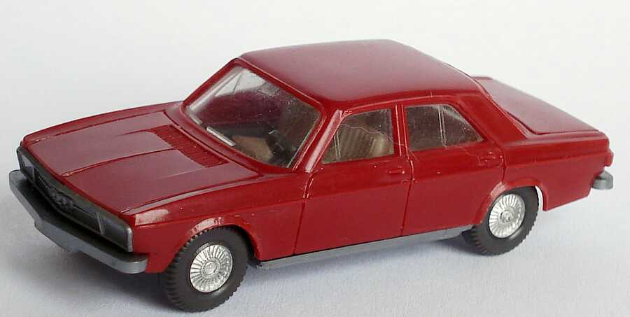 Foto 1:87 Audi 100 (C1) rubinrot Wiking 120
