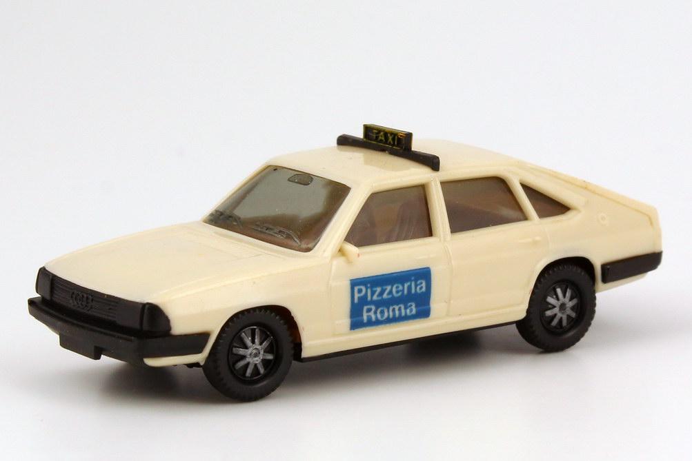 Foto 1:87 Audi 100 GL 5E Avant (C2) Taxi Pizzeria Roma herpa