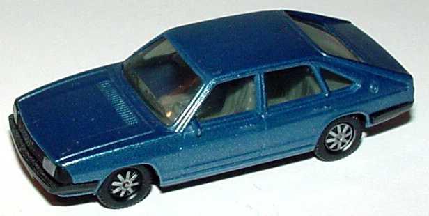 Foto 1:87 Audi 100 GL 5E Avant blau-met. herpa 3011