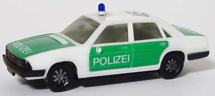 Foto 1:87 Audi 100 GL 5E Polizei 451 (IA grau) herpa
