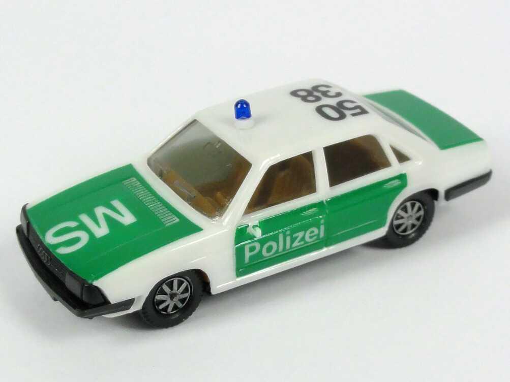 Foto 1:87 Audi 100 GL 5E Polizei 50 38 MS herpa 4044/01A