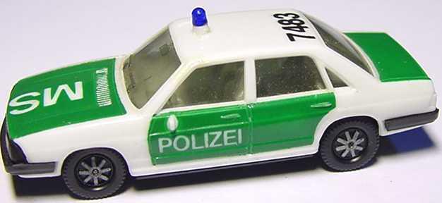 Foto 1:87 Audi 100 GL 5E Polizei 7483 MS herpa 4044