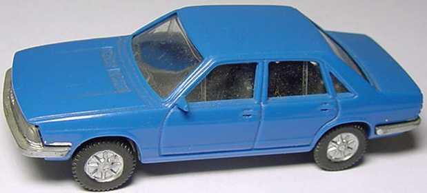 Foto 1:87 Audi 100 GL 5E blau Fleischmann