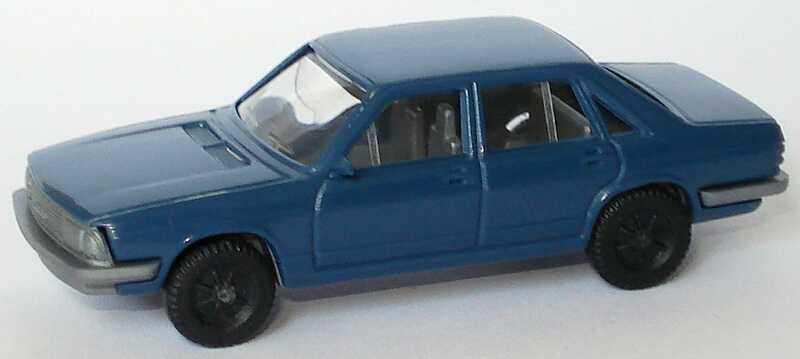 Foto 1:87 Audi 100 GL 5E dunkelblaugrau Fleischmann