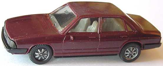 Foto 1:87 Audi 100 GL 5E dunkelviolett (Boden schwarz) herpa 2004