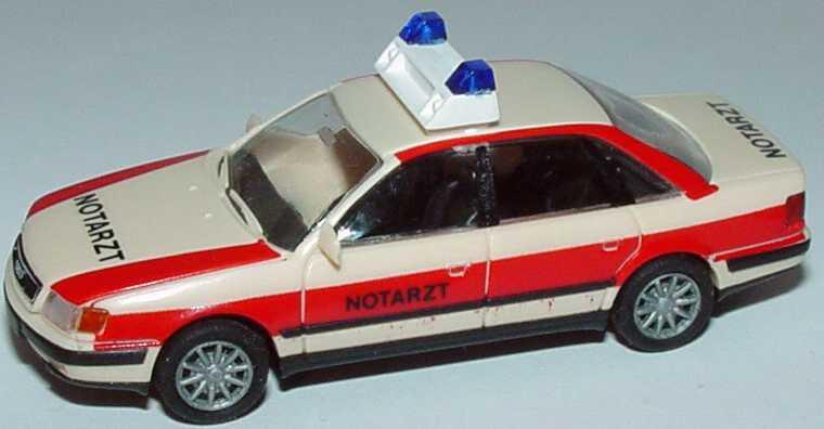 Foto 1:87 Audi 100 (C4) Notarzt, 10-Speichen-Felgen Rietze 50421