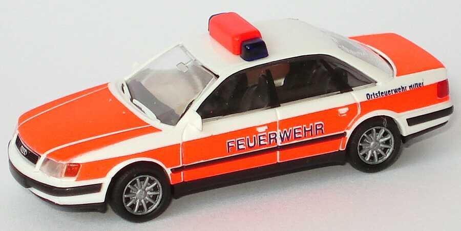 Foto 1:87 Audi 100 (C4) Ortsfeuerwehr Hilter Rietze