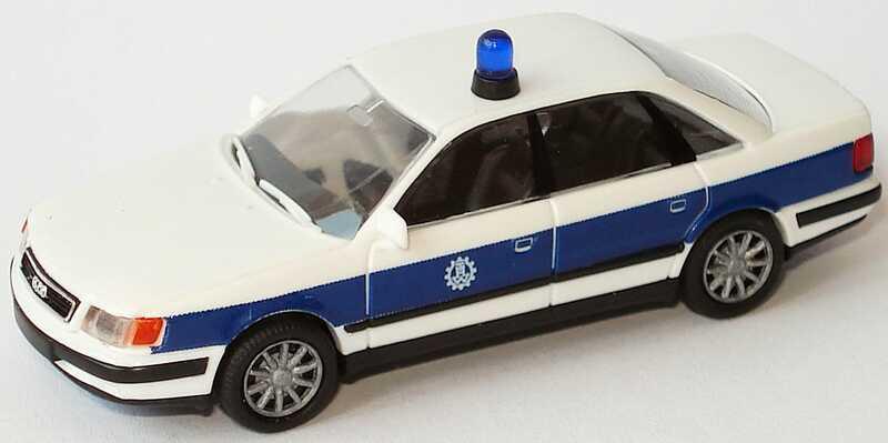Foto 1:87 Audi 100 (C4) THW, 10-Speichen-Felgen Rietze