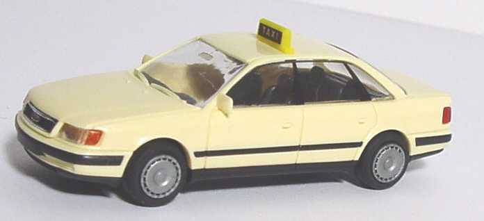 Foto 1:87 Audi 100 (C4) Taxi (Radkappen) Rietze 30420