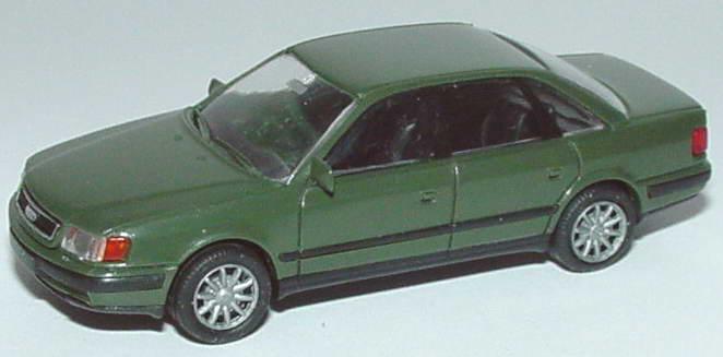 Foto 1:87 Audi 100 (C4) bundeswehrgrün Rietze 30421