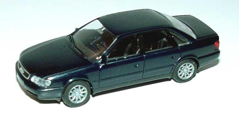 Foto 1:87 Audi 100 (C4) dunkelblau (mit Speichenfelgen) Rietze 10420