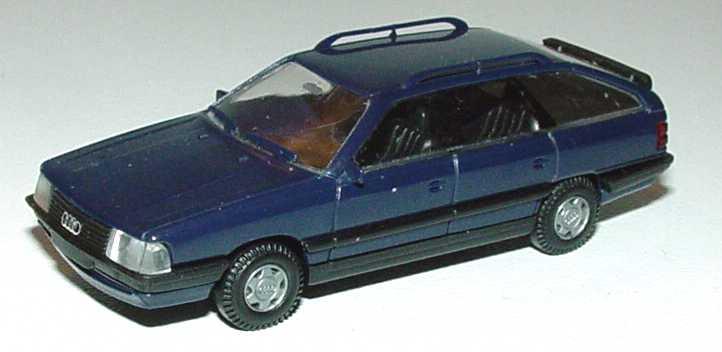 Foto 1:87 Audi 200 Avant dunkelblau Rietze