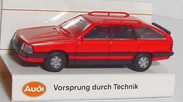 Foto 1:87 Audi 200 Avant rot Werbemodell Rietze