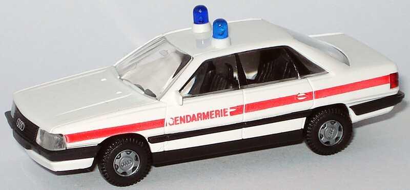 Foto 1:87 Audi 200 Gendarmerie Rietze