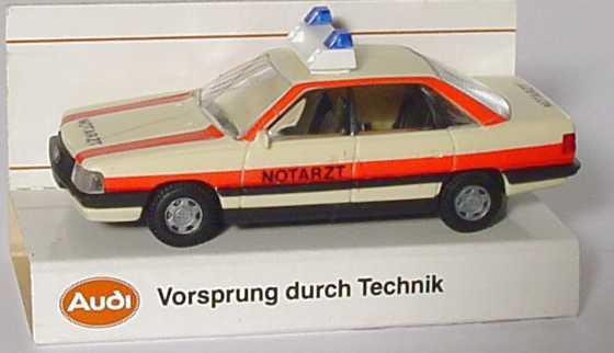 Foto 1:87 Audi 200 Notarzt Werbemodell Rietze